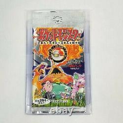 1 Japanese Pokemon Base Set Booster Pack