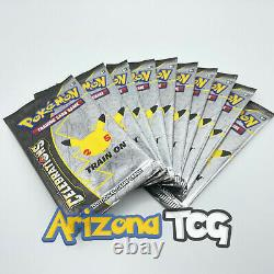 10 Pokemon 25th Anniversary Celebrations Booster Packs One 10 Pack Lot Sealed