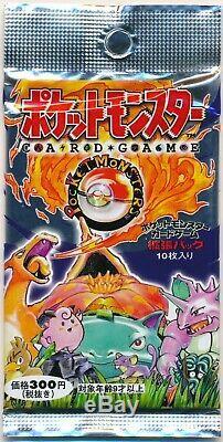 1996 Pokemon Base Set Booster 1 Pack Sealed Japanese Card NEW