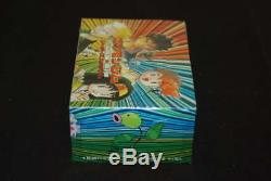 1998 Pokemon Sealed Japanese Gym Heroes Booster Wax Box No Bottom Text Wb565