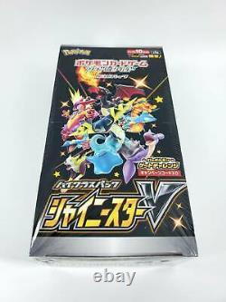 1st Edition Pokemon Card Game Sword & Shield Shiny Star V Box Factory Sealed