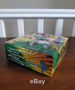 2001 Japanese Pokémon VS Grass/Lightning Booster Box 1st Edition Sealed