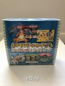 2004 Japanese Pokemon E-Series Battle Fire Red Leaf Green Booster Box Sealed