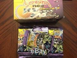 31 Pokemon Japanese Neo 4 Sealed Packs Destiny Boosters half Box Set