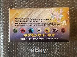 60 Pack Neo 1 Genesis Booster Box Japanese Pokemon Sealed New