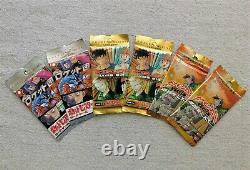 6x Japanese Pokemon booster packs TEAM ROCKET, GYM HEROES, NEO DISCOVERY, SEALED