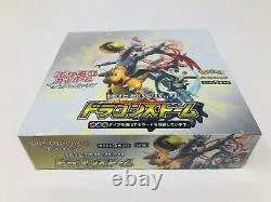 Dragon Storm Pokemon Japanese Booster Box Pack Factory Sealed USA Seller