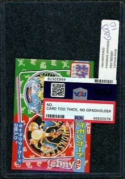 Holy Grail! Psa Reviewed Gem Mint 10 1995 Topsun Pokemon Booster -factory Sealed
