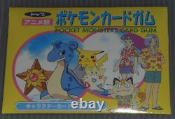 Japanese Pokemon 1997 Southern Island Topsun VS Battle Gum Booster Pack Sealed