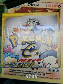 Japanese Pokemon Expedition 1st Edition Booster Box Factory Sealed Amazing