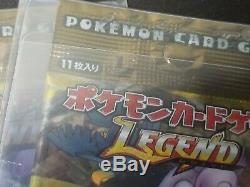 Japanese Pokemon Reviving Legends 1st Edition Booster Pack HGSS Unleashed