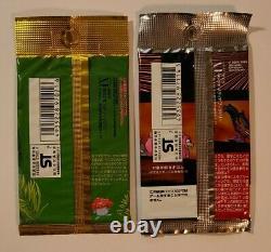 Japanese Pokemon TEAM ROCKET 300 & JUNGLE 291 Factory Sealed Booster 2 Pack Lot