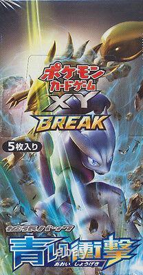 Japanese Pokemon XY8 BLUE SHOCK IMPACT Booster Box 1ST EDITION 20CT SEALED