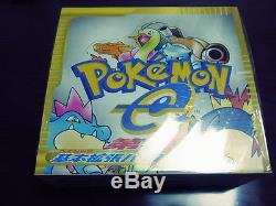 Japanese pokemon card e sealed booster box first edition