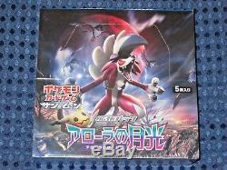 NEW Nintendo Pokemon Card SUN&MOON SM2L Booster Pack Alolan Moonlight Box JAPAN