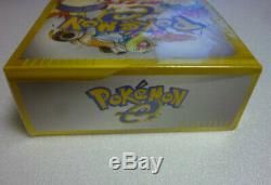 NEW Pokemon e-Card Base Set Booster Box 1st Edition Japan Sealed