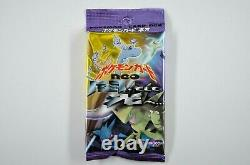 New / Sealed Japanese Pokemon Neo Destiny Set Booster Pack 2001