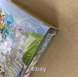 POKEMON CARD JAPAN Eevee Heroes SWORD & SHIELD BOOSTER 1 BOX Free Shipping JAPAN
