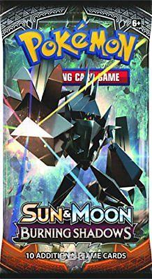 POKEMON TCG Sun Moon Burning Shadow Booster Display box entered unopened