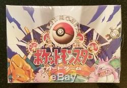 Pokemon 1 Booster Box Japanese Factory Sealed Base Set See Pics For Condition