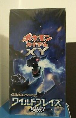 Pokemon 1st Edition Wild Blaze Xy Flashfire Booster box Japanese USA Seller Set