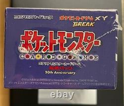 Pokemon 20th Anniversary CP6 1st Edition Japanese Evolutions Booster Box SEALED