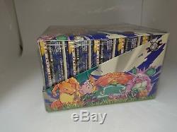 Pokemon Base Set Booster Box Sealed Original Factory Sealed 1996 JAPAN