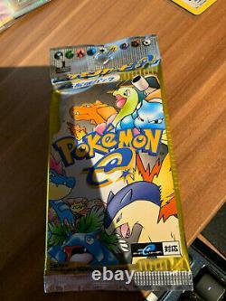 Pokemon Base Set EXPEDITION 1st Edition Booster Japanese Sealed Heavy