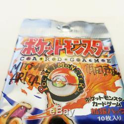 Pokemon Base Set Japanese booster pack signed by Mitsuhiro Arita