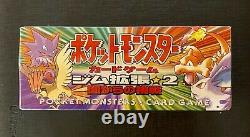 Pokemon Boosters Box Gym Challenge Japanese Factory Sealed