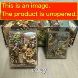 Pokemon Card Game Eevee Heroes Gym Set VMAX Pack CCG 2021 Box Deck shield case