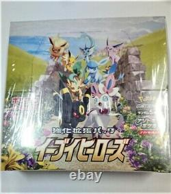 Pokemon Card Game Enhanced Expansion Pack Eevee Heroes Box Japanese NEW