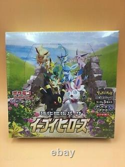 Pokemon Card Game Enhanced Expansion Pack Eevee Heroes Box S6a Japanese