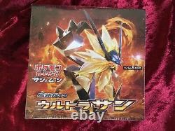 Pokemon Card Game Sun & Moon Expansion Pack Ultra Sun BOX sM5S