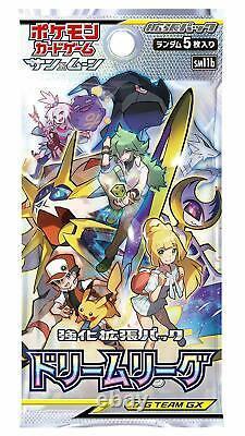 Pokemon Card Game Sun & Moon Expansion pack Dream League Booster BOX