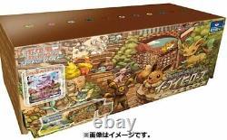 Pokemon Card Game Sword & Shield Eevee Heroes Eevee's Set Gym Box Japanese