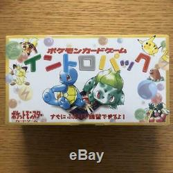 Pokemon Card Intro Pack Starter Booster Box Japanese VHS Tape Set