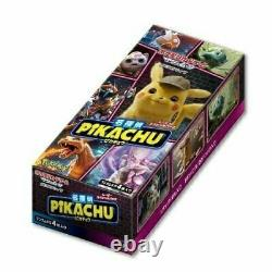 Pokemon Card Japanese Detective Pikachu Booster 1 BOX JAPAN Express Sipping