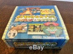 Pokemon Card Japanese E-Series Battle Fire Red Leaf Green Booster Box Sealed New