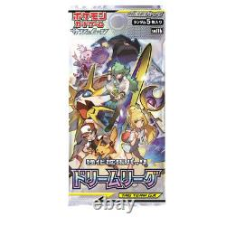 Pokemon Card Japanese Sun & Moon Dream League Expansion Booster Box(095)