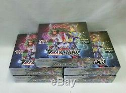 Pokemon Card SWSH Booster Strength Expansion Pack VMAX Rising 5 Box Set S1a JP