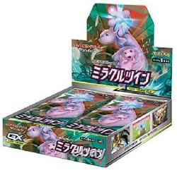 Pokemon Card Sun & Moon Expansion Pack Miracle Twin Booster Box SM11 Japanese