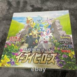 Pokemon Card Sword & Shield Booster Box Eevee Heroes S6A (30 packs) Japanese