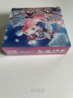 Pokemon Card Sword & Shield Fusion Arts Booster Box Mew Factory Sealed TCG PCG