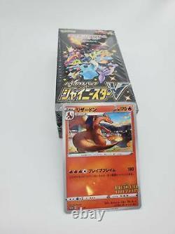 Pokemon Card Sword & Shield High Class Pack Shiny Star V Box & Charizard Promo