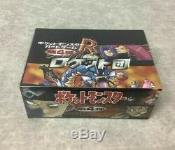 Pokemon Card Team Rocket Booster Box Japanese New Factory Sealed