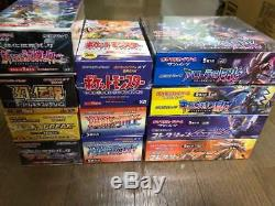 Pokemon Card XY BREAK Legend 20th Premium Champion Booster Box Lot of 11 set