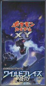 Pokemon Card XY Booster Part 2 Wild Blaze Sealed Box XY2 1st Edition Japanese