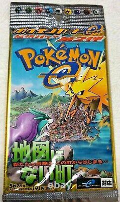 Pokemon Card e 2nd Booster Pack The Town on No Map from Japan #B00062