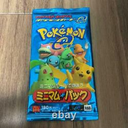 Pokemon Card e McDonald's Minimum Booster Pack from Japan Unopened